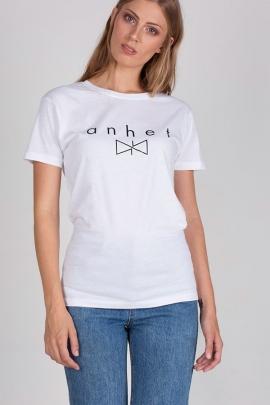 Camiseta blanca logo
